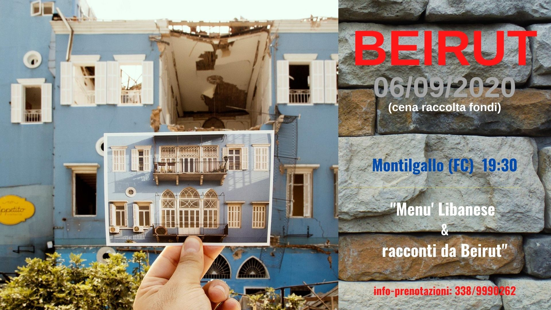 """04/08/2020: """"THE EXPLOSION OF/IN BEIRUT"""""""